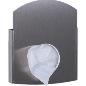 Dutch Bins Hygienezakjesdispenser RVS / Kunststof en Papier