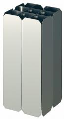 Aluminium inzet tbv. Carro 55ltr.