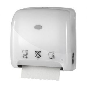 Bruikleen: Handdoekautomaat Autocut Mini Matic Wit