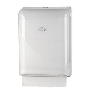 Bruikleen: Handdoekdispenser Wit