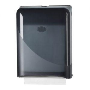 Bruikleen: Handdoekdispenser Zwart
