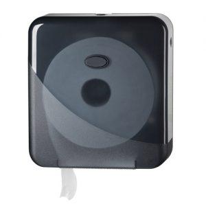 Bruikleen: Jumbo Toiletroldispenser Mini Zwart