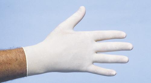Latex Handschoen Poedervrij Wit Maat S