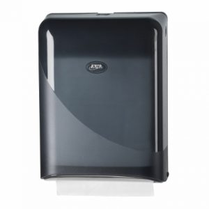 Pearl Black Handdoekdispenser Interfold Z-fold
