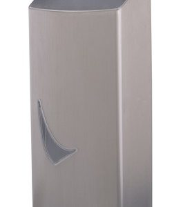 Wings Foamzeepdispenser 900ml. RVS Anti Fingerprint